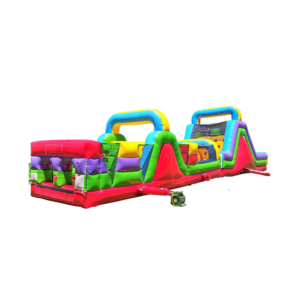 60 mega rush obstacle course jumping bunny rentals