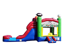 Sports Combo bouncer with slide