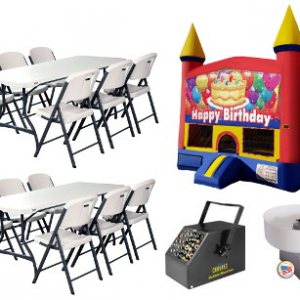 Party Package by Jumping Bunny Rentals